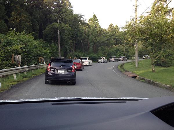 富士チャレンジ渋滞