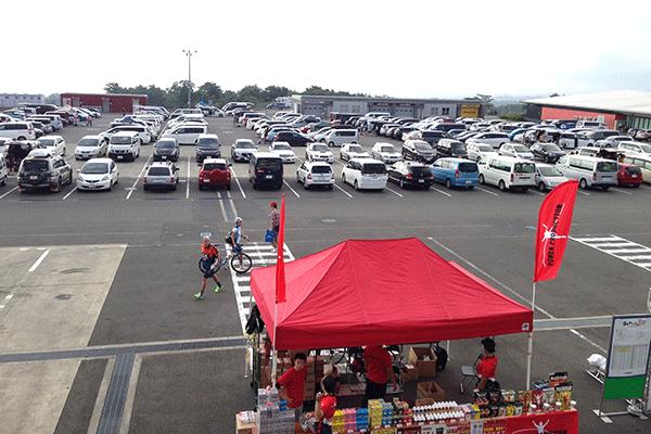 富士スピードウェイ 駐車場
