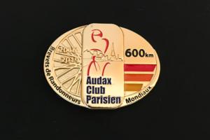 BRM600kmメダル