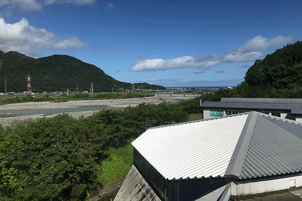 ホテル國富アネックスからの風景