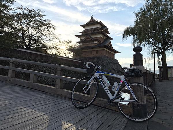 高島城 自転車