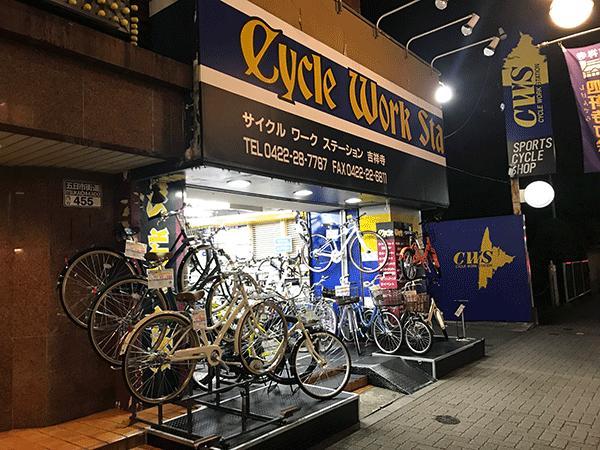 CYCLE WORK STATION