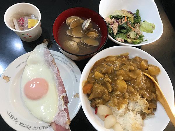 BRM427アタック日本海後の朝食