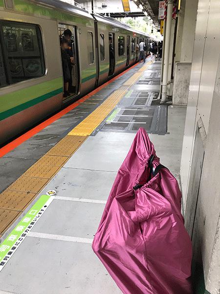 横浜線 輪行
