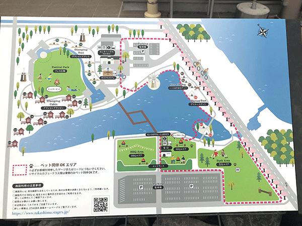 STAGEX高島 地図