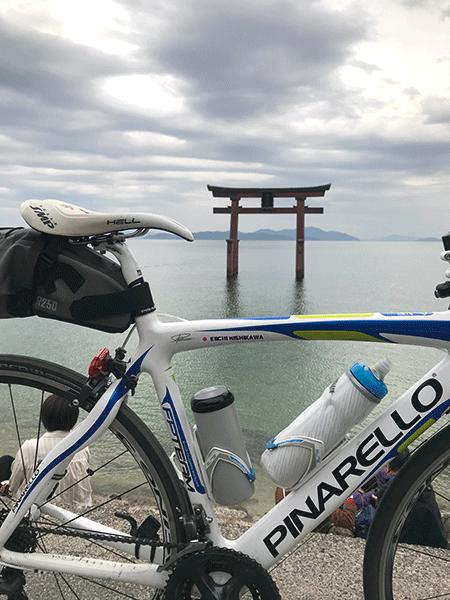 白髭神社 琵琶湖